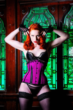 Sophie Nova modelling corsets from Desert Orchid Corsets Corsets