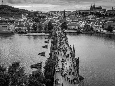 Charles Bridge & Prague Castle