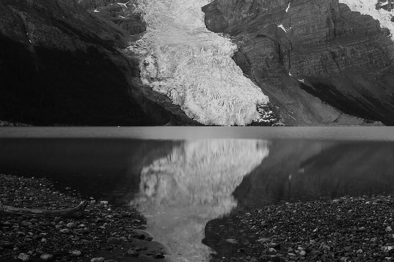 Lake and Glacier
