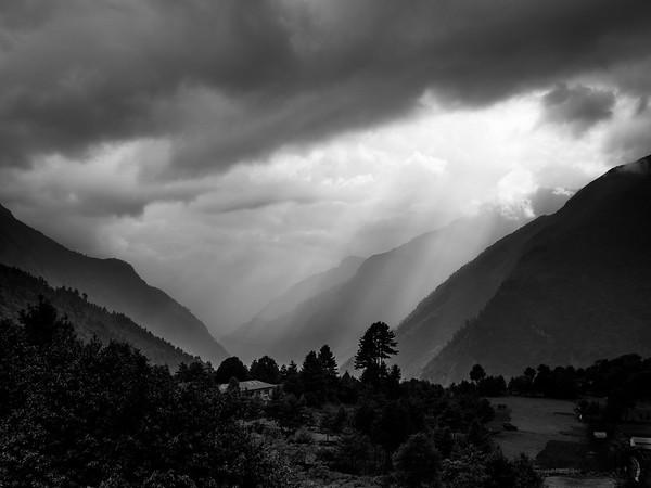 Layers of Himalayas