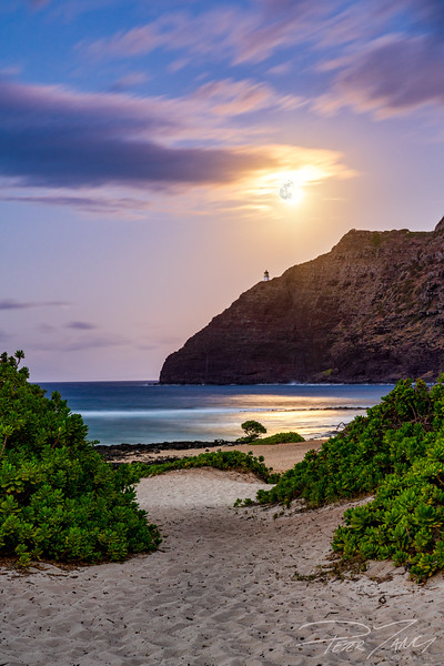 Makapuu Path to the Moon