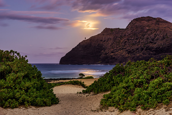 Path to Makapuu Moon