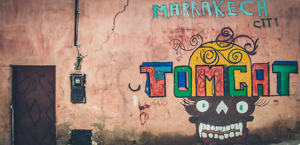 Wall in Marrakesh