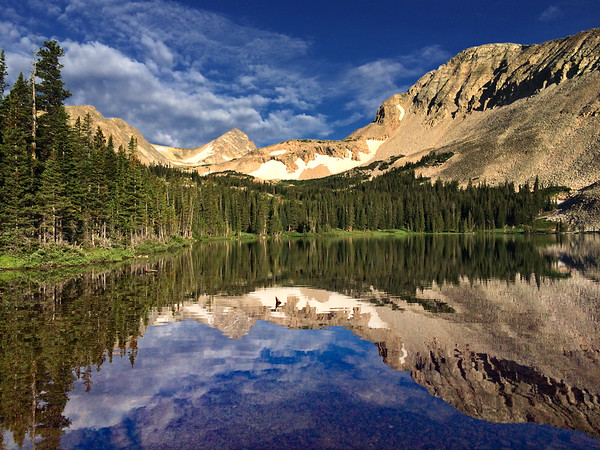 Blue Lake Reflections II