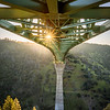 Foresthill Bridge Sunstar