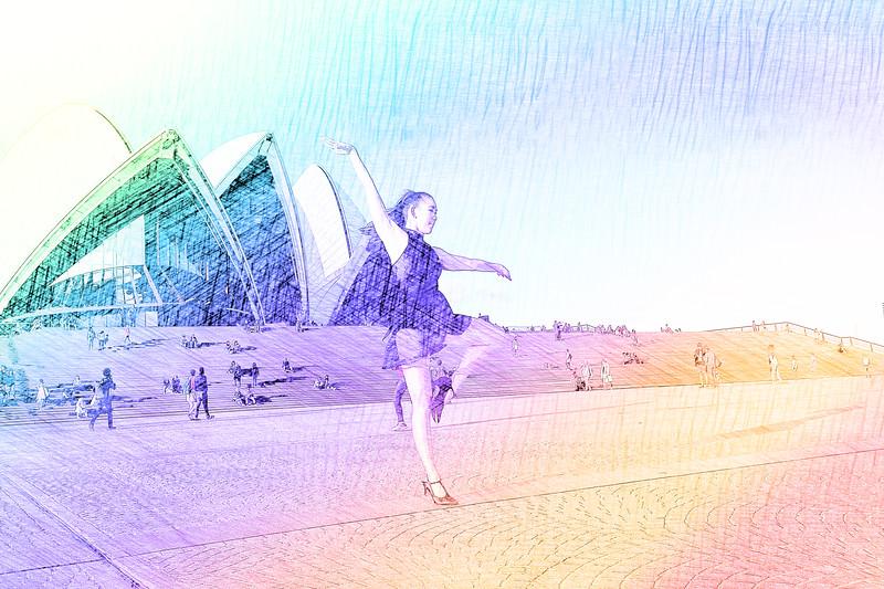 Dancing in the rainbow