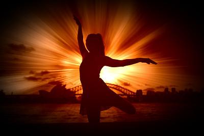 Dancing in the spotlight