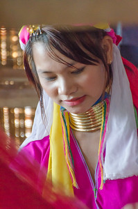Kayah Lahwi (Padaung) woman