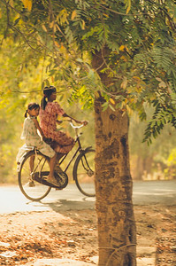 Afternoon ride, Mandalay