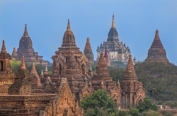 Bagan temples complex