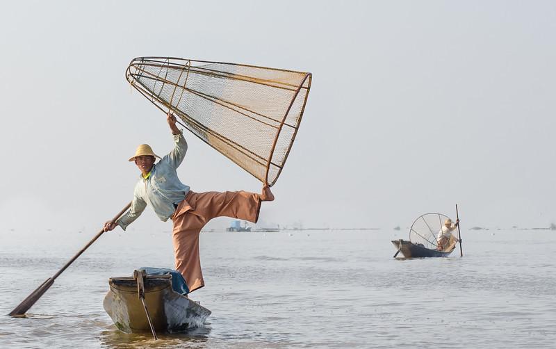 Intha fisherman, Inle lake