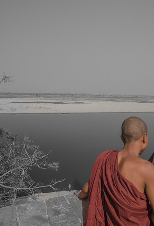 View spot to Irrawaddy River, Bagan