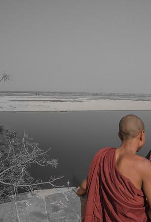 View spot to Irrawaddy River, Bagan