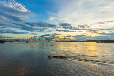 Irrawaddy Bridge (Yadanabon)  Mandalay