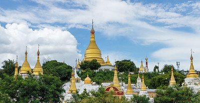 Golden Pagodas, Mandalay