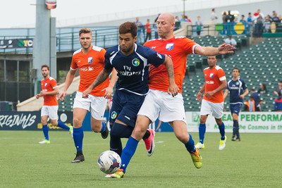 NY Cosmos B Vs NY Dutch Lions FC All Star Team @MCU Park 6/16/17