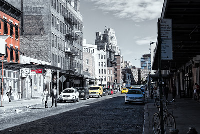 Meatpacking District, Gansevoort St, New York, NY