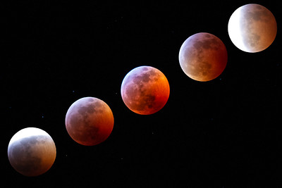 90 Minutes of the Lunar Eclipse