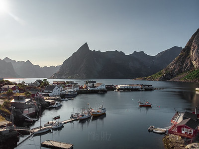 Lofoten. View from above