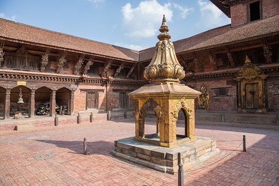 Detail of the Patan royal court.