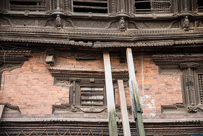 Detail of the Bhaktapur royal court.