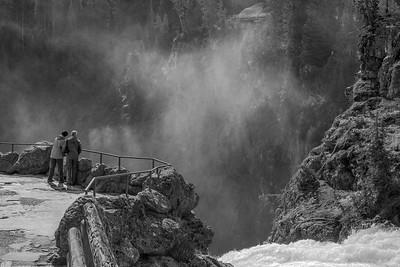 Brink of the Upper Falls Overlook