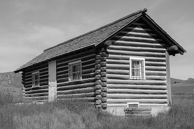 Cabin - Fort Phil Kearny, Wyoming