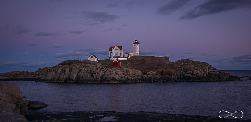 Nubble Light-Cape Neddick Lighthouse, York Maine 11.16