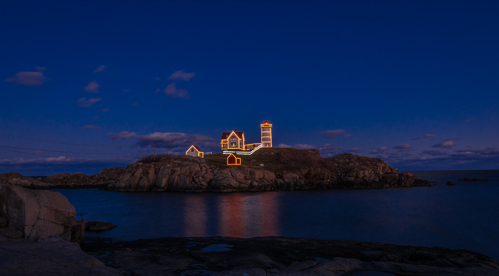 Nubble Light-Cape Neddick Lighthouse, York, ME