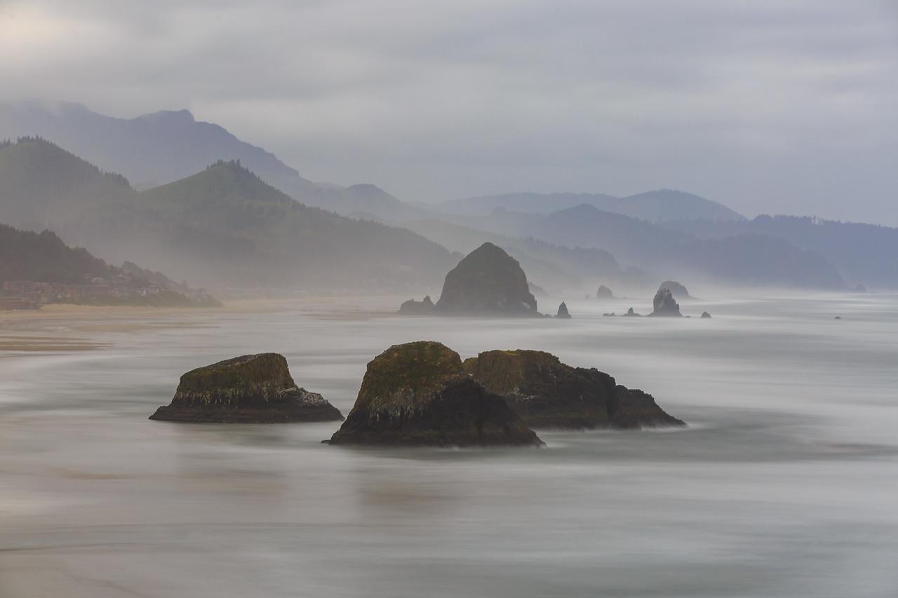 rocks and beach