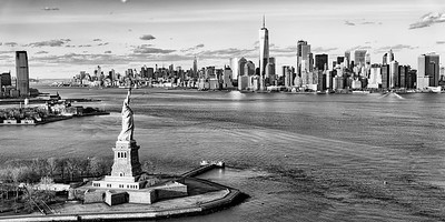 Statue of Liberty & 1 World Trade Center