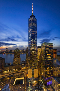 One World Trade Center Rooftop View