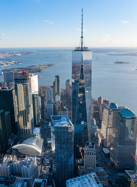 One World Trade Center Aeriel View