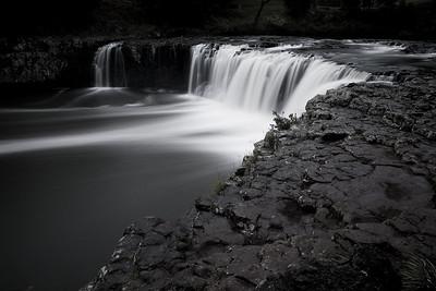 North Island, New Zealand: Haruru Falls near Bay of Islands and the town of Kerikeri.