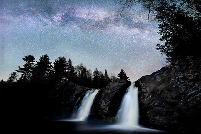 Milky Way Waterfall