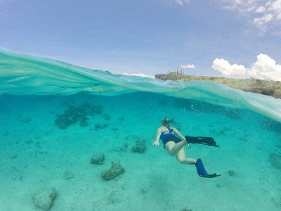Snorkelling in paradise