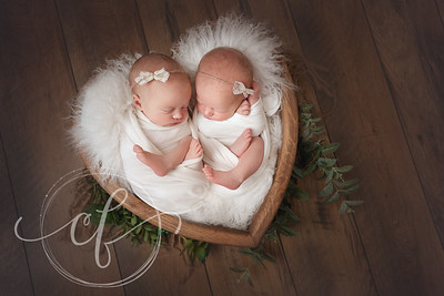 Twin Newborn Photoshoot, Co. Kerry