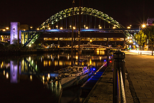 Boating on the Tyne