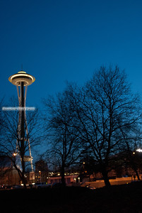 Space Needle Twilight