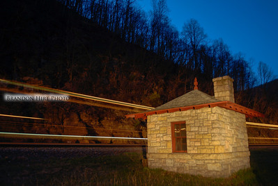 Horseshoe Curve Night Train