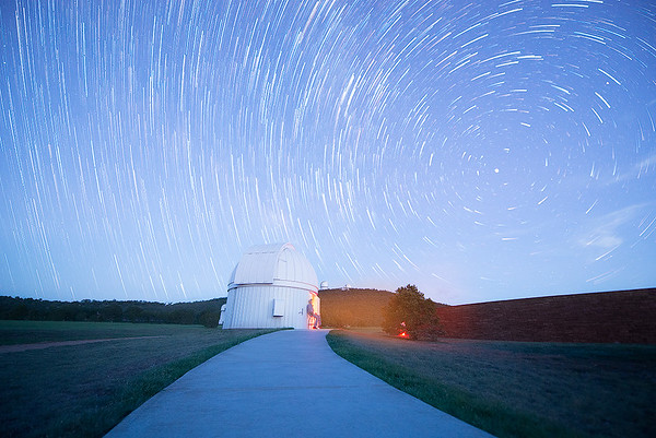 Star Trails over McDonald Observatory (Fort Davis, Texas)