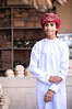 Portrait of a young Omani boy.