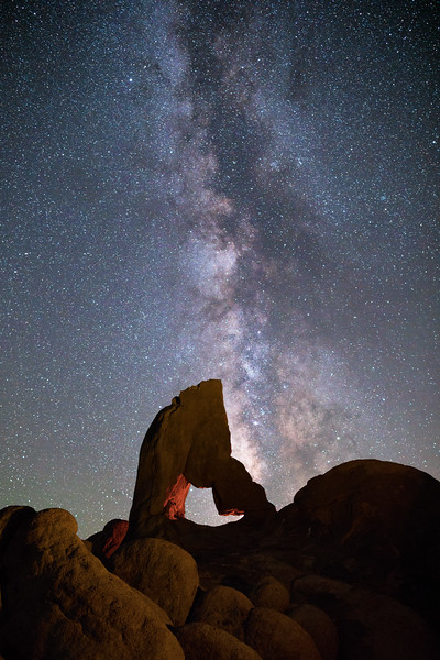 Boot Arch Milky Way