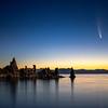 Neowise Comet Over South Tufa, Mono Lake