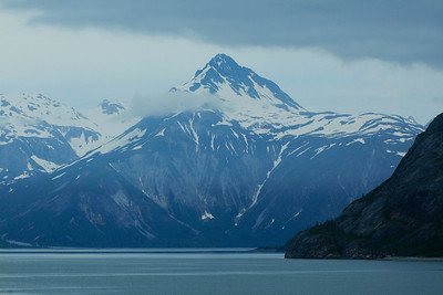 Inside Passage, Alaska Sailing down the Inside Passage near Glacier Bay.