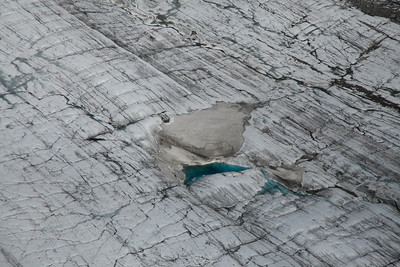 Denali, Alaska Landing site on Yanert Glacier.