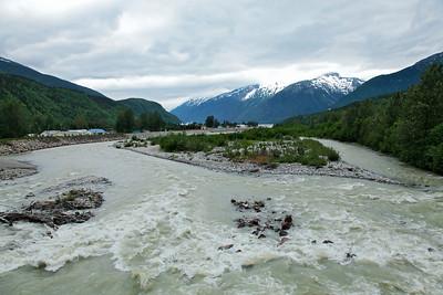 Skagway, Alaska The Skagway River in Skagway, Alaska.