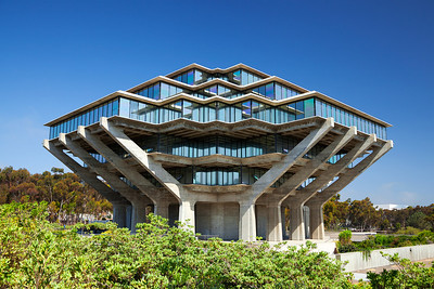 Geisel Library at University of California, San Diego