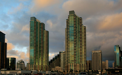 Storm Clouds and High Rises