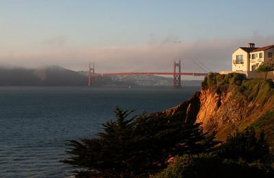 Golden Gate Fog Rolls In